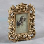 "Baroque Antique Gold Photo Picture Frame Gift 6""x4"""